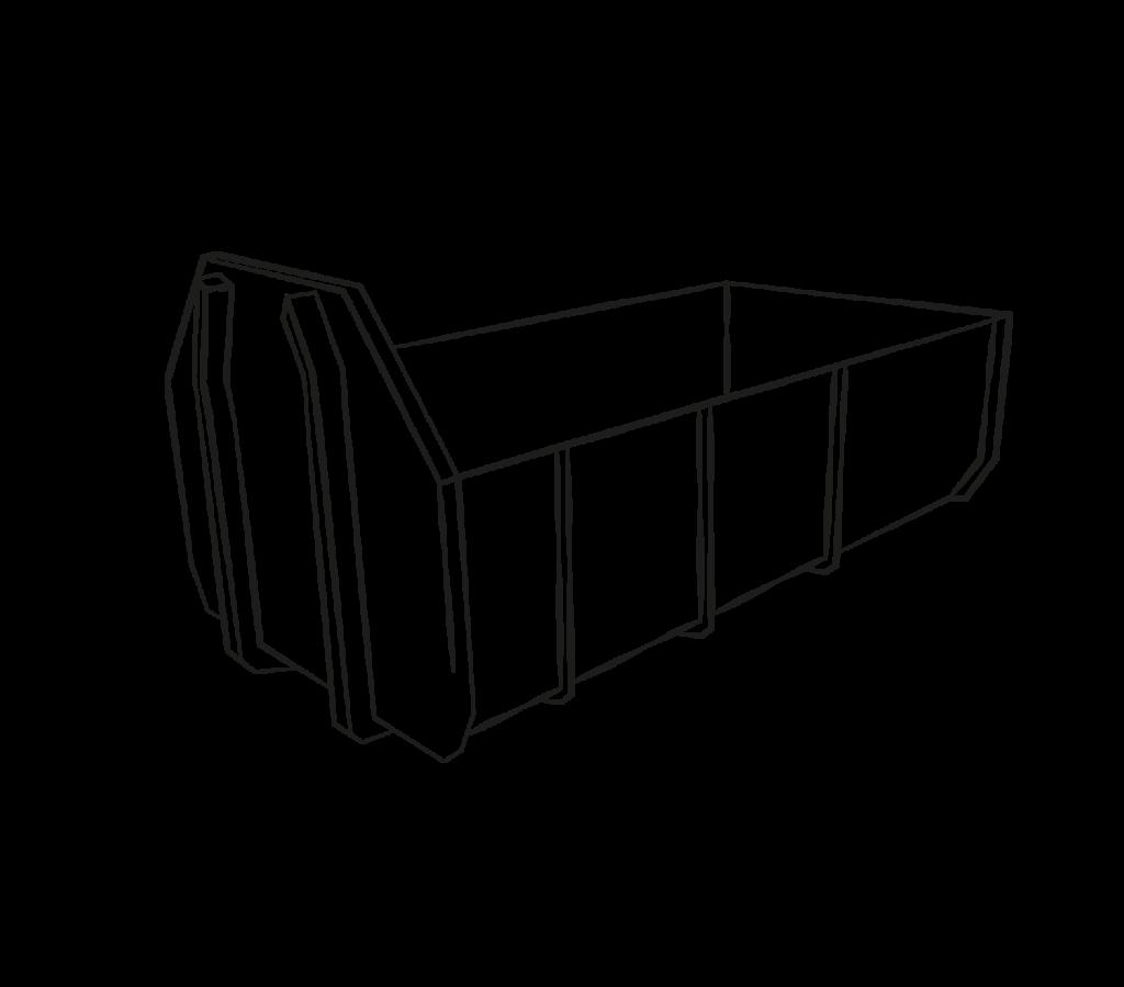 container halbhoch