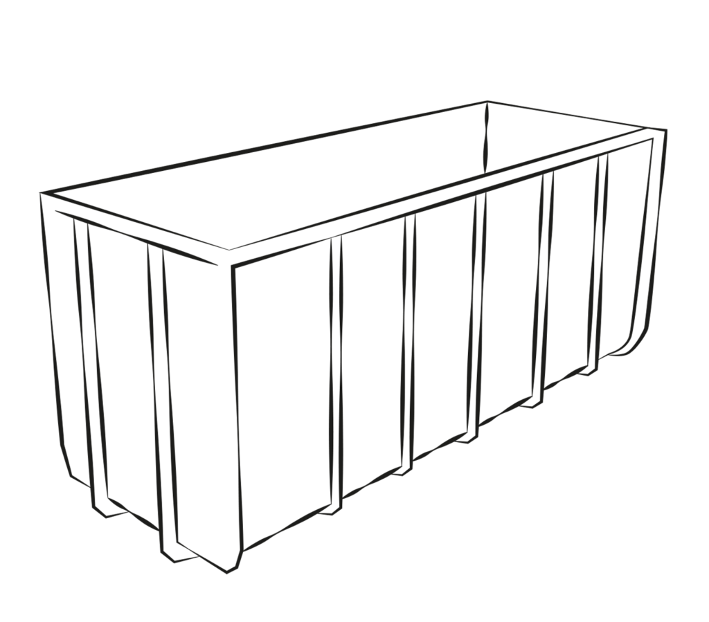 container ohnedeckel gros